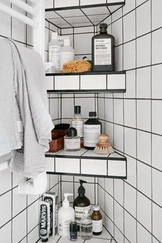 Small bathroom solutions...