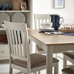 Hartford Painted 6 8 Seater Extending Dining Table House things