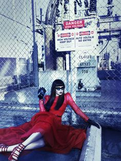 Felicity Jones by Tom Munro, styled by Arianne Phillips for the March 2012 issue of Vogue Italia. 3