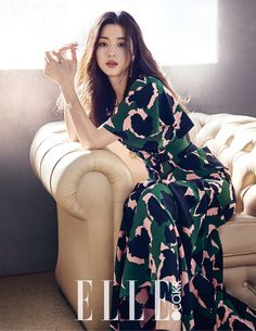 Additional Gucci Shots Of Jeon Ji Hyun From Elle Korea's April Issue | Couch Kimchi