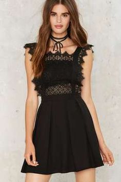 NastyGal Around the Smock Lace Dress Found on my new favorite app Dote Shopping #DoteApp #Shopping