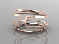 Jewelry designer Mark Reyes from youdesignwecreate.com created this pink gold ladies fashion ring for a client of ours.... Ladies Fashion, Womens Fashion, Can Design, Jewelry Designer, Bangles, Bracelets, Fashion Rings, Custom Jewelry, Pink And Gold
