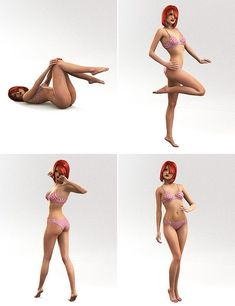 Pin Up Poses for V5