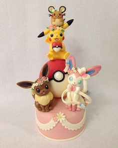 Cake Wrecks - Home - Sunday Sweets Goes Pokémon (Litten Pokemon Cake) Pokemon Cupcakes, Pikachu Cake, Pokemon Torte, Pokemon Birthday Cake, 7th Birthday, Cake Wrecks, Fancy Cakes, Pink Cakes, Pretty Cakes