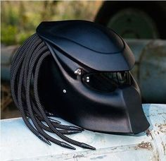 Could you image riding a motorcycle with this helmet! it would make me laugh!