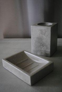 Bath set | Product design | Concrete product design | Concrete design | Beton design | Betonlook | www.eurocol.com