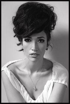 Nina Zilli--Italy's representative for Eurovision 2012 in Baku, Azerbaijan.