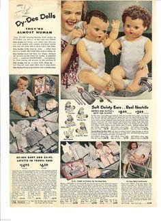 Dy Dee Dolls ad