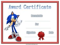 16 best certificates for kids images on pinterest free printable