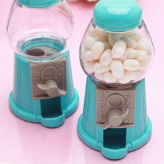 Tiffany Blue Mini Classic Gumball Machines - Tiffany Style Wedding Favors - Wedding Favor Themes - Wedding Favors & Party Supplies - Favors and Flowers