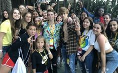 After getting changed we all went to were vidcon was being held and we all took pictures The first picture (Payton and his fans) Dolla Sign, Anaheim Convention Center, Pop Hits, Short Form, Fade Out, The New Wave, Looking For People, Instagram And Snapchat, Older Men