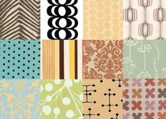Patterned Upholstery Fabrics | Apartment Therapy