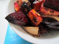 Balsamic Roasted Root Veggies recipe