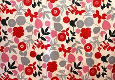 silhouette floral pattern