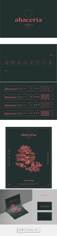 Abacería branding on Behance... - a grouped images picture - Pin Them All