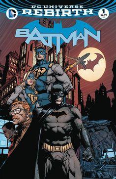 Batman #1. DC Universe Rebirth (2016).