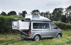 The Bett Mobil packages transforms your Volkswagen van into a camper while allowing it to go...