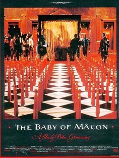 The Baby Of Mâcon (Le chef d'oeuvre sacrilège et sanglant) Original Movie Posters, Film Posters, Poster On, Poster Prints, Information Poster, French Movies, Chef D Oeuvre, Le Chef, Posters