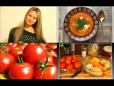 Польская кухня / Zupa pomidorowa /Легко и вкусно! - YouTube Vegetables, Youtube, Food, Veggies, Vegetable Recipes, Meals, Yemek, Youtubers, Youtube Movies