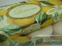 Humorous Saponificio Artigianale Fiorentino Lemon Boxed Soaps 3-5.29 Oz We Take Customers As Our Gods Other Bath & Body Supplies