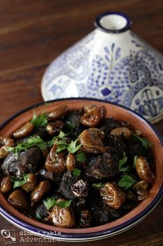 Oh. my. goodness. Moroccan Lamb Tagine with Sweet Honey Figs. (and saffron, and chestnuts, and, and, and...*sigh*)