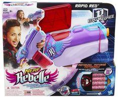 Nerf Rebelle Secrets & Spies Rapid Red Blaster