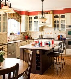 Kitchen Makeover Makes Room for Grandkids | Country Kitchens | Love the Country