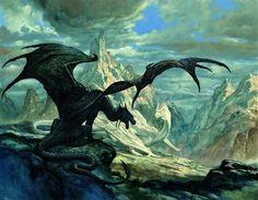 Black Dragon and White Dragon