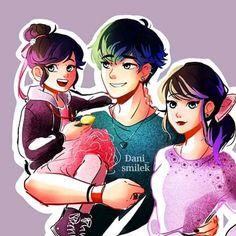 Miraclous Ladybug, Viera, Anime, Fan Art, Instagram, Cartoon Ships, Libros, Cartoon, Black People
