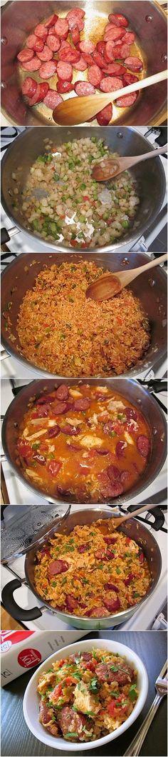 Jambalaya Recipe-use leftover shrimp