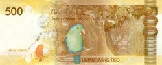 Philippine Peso Bills - Art and design inspiration from around the world - CreativeRoots Puerto Princesa Subterranean River, Philippine Peso, Baybayin, Money Change, Philippines Culture, Creepy Photos, Play Money, National Parks, Weaving