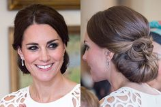What is it about weddings that makes us want to twist our hair into the most complicated updos ever? These 15 hairstyles are gorgeous, elegant--and easy to re-create. We promise that there's not an advanced-degree-required style in the bunch.
