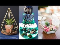 (1) DIY ROOM DECOR! 21Easy Crafts Ideas at Home - YouTube