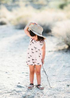 Bubble suit for summer explorations. Rylee & Cru. #estella #kids #fashion