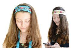 Bohemian headband Vintage style hairband by IKALAoutfitter on Etsy
