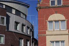 Neues und altes Gebäude in Göttingen. #goettingen #gebaeude Designer, Multi Story Building, Mansions, House Styles, Home Decor, Photo Studio, Landscape, Architecture, Photo Illustration