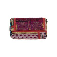 Old Embroidery Clutch; Assorted
