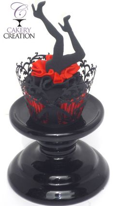 Burlesque themed cupcakes by Cakery Creation in Daytona Beach
