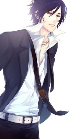 Take a moment and imagine Ciel all grown up.....yeah. Sebastian, you have some competition!