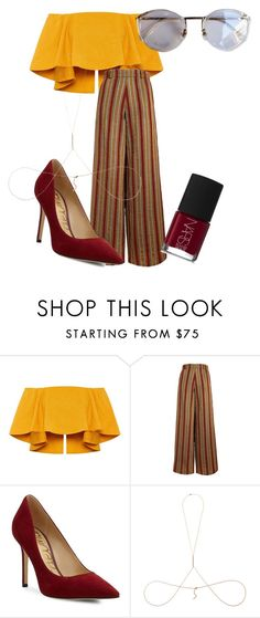 """""""🔕"""" by moonmermaid on Polyvore featuring The Bee's Sneeze, Sam Edelman, Aamaya by Priyanka and NARS Cosmetics"""