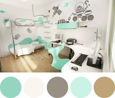 Would be super cute with the retro car theme for Kason's room!