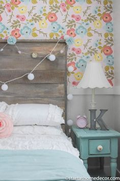 Vintage teenage girls bedroom ideas (55)