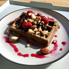Walnutty Waffles - Try my Walnutty Waffles. On the health front walnuts are the queen of nuts &  flaxseeds are the king  of seeds. My dairy free, gluten free, oil free, egg free, Walnutty Waffles have plenty of both. Enjoy