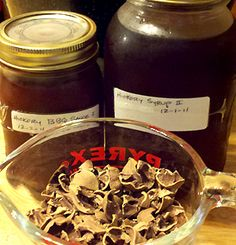 Hickory nut syrup, hickory nut BBQ sauce & hickory nut shells for smoking on…