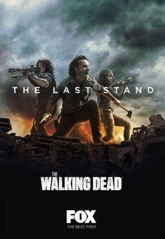 Il poster per la seconda parte di The Walking Dead 8