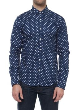 Polka dot button up shirt mens is shirt for Nice mens button up shirts