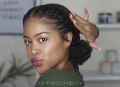 6 Elegant And Easy No Braids Natural Hairstyles That's Perfect For Summer ⋆ African American Hairstyle Videos – AAHV Haar African American 6 Elegant And Easy No Braids Natural Hairstyles That's Perfect For Summer Braids african american Natural Braided Hairstyles, Protective Hairstyles For Natural Hair, Braided Hairstyles For Black Women, Natural Hair Updo, Natural Hair Styles For Black Women, Braid Hairstyles, Professional Natural Hairstyles, Elegant Hairstyles, Relaxed Hairstyles