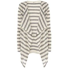 Oasis stripe drape cardi ($15) ❤ liked on Polyvore featuring tops, cardigans, outerwear, women's tops, drapey cardigan, waterfall cardigan, striped cardigan, drapey top and cardigan top