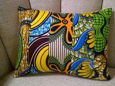 African Mix Print Cushions