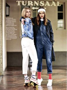 f3c31affd1a2 Citizens of Humanity Tallulah Jumpsuit in Stereo featured in Miss OST  Austria s 4th issue.